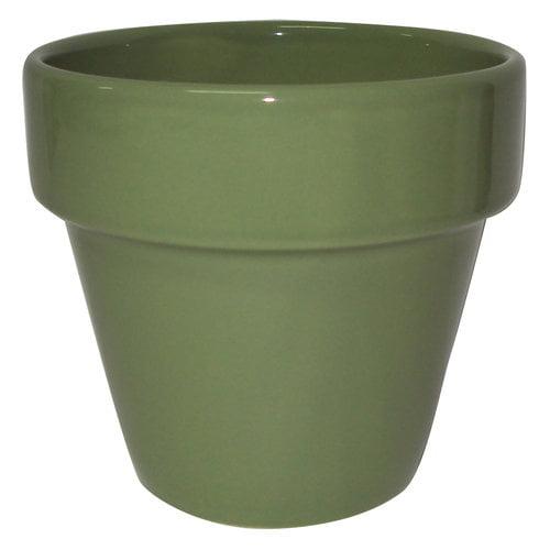 Mainstays Ceramic Flower Pot - Walmart com
