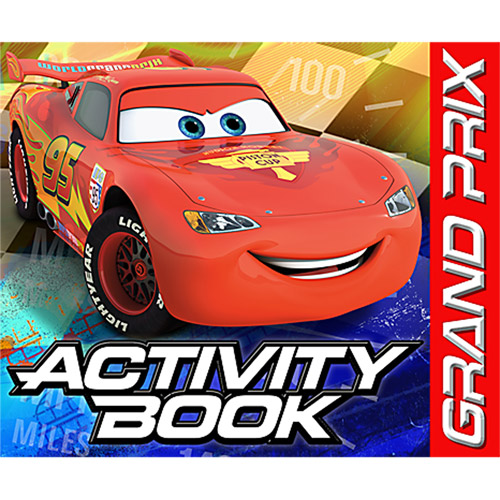 Hallmark Party Disney Cars Activity Book Favors