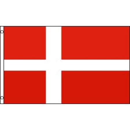 2x3 Denmark Flag Danish Banner Country Pennant Indoor Outdoor 24x36 inches