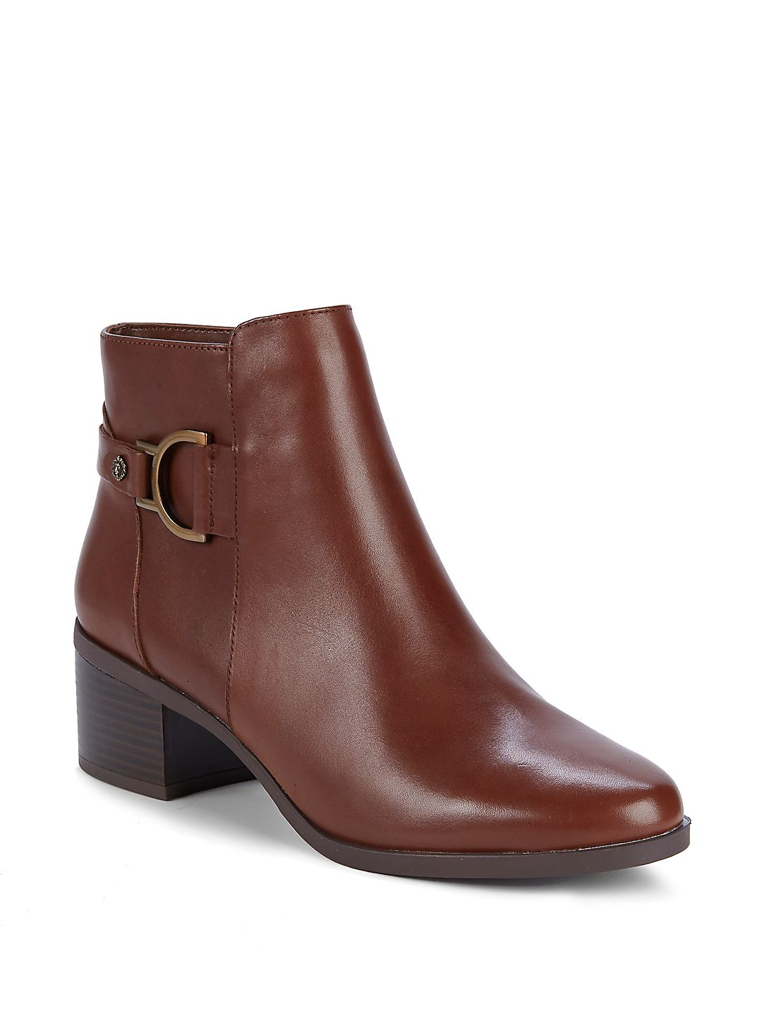Jaysie Block Heel Booties