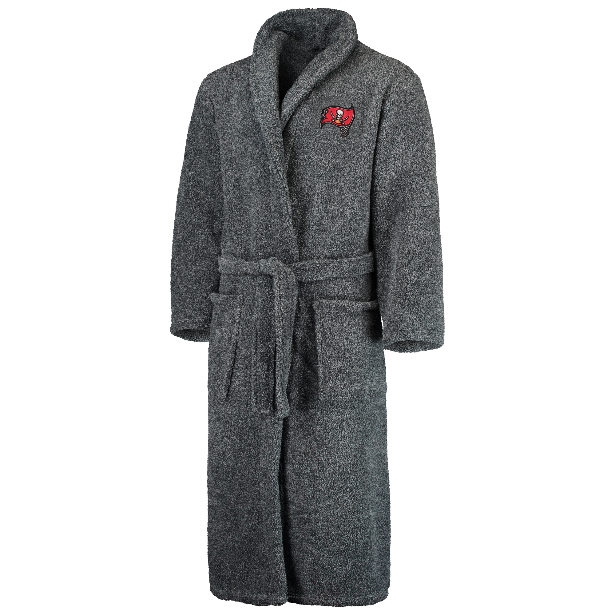 Tampa Bay Buccaneers Concepts Sport Trifecta Robe - Charcoal