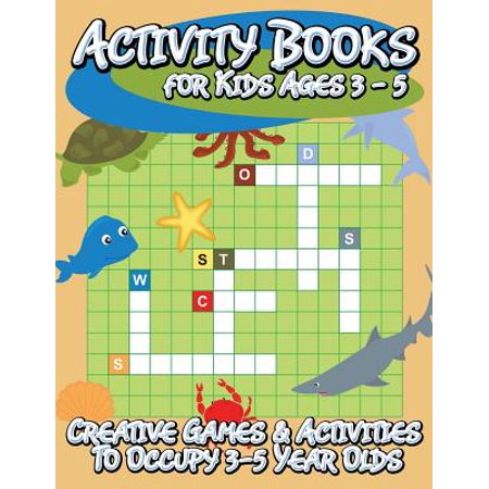 Activity Books for Kids Ages 3 - 5 (Creative Games & Activities to Occupy 3-5 Year - Halloween Party Activities For 11 Year Olds