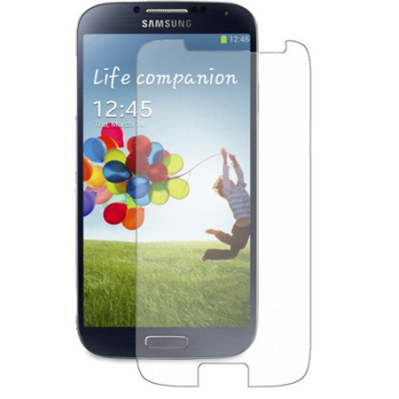 Screen Protector HD Clear LCD Film for  T-Mobile Samsung Galaxy S4 - AT&T Samsung Galaxy S4 - Sprint Samsung Galaxy S4 - Verizon Samsung Galaxy (T Mobile Samsung Galaxy S4 Screen Replacement)