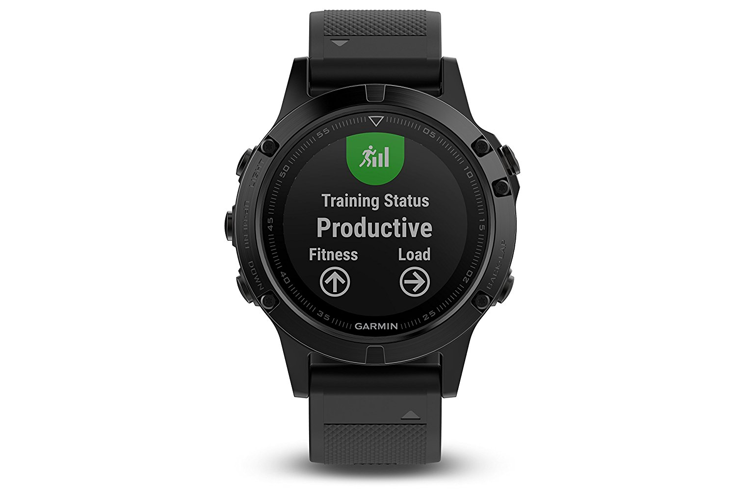 Garmin Fenix 5 Sapphire Black with Black Band by Garmin