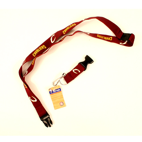 NBA Cleveland Cavaliers Team Color Breakaway Lanyard Key Chain