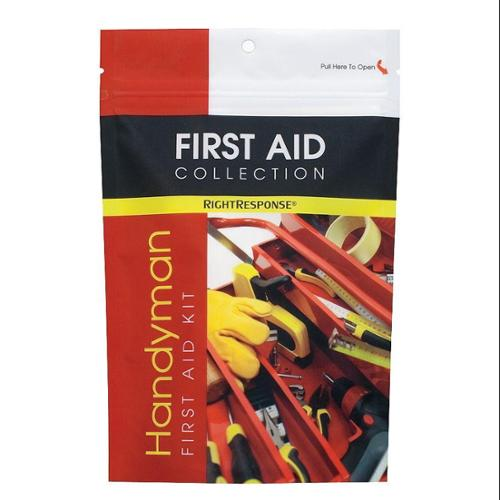 FIRST AID ONLY First Aid Kit, Bulk, Red, 32 Pcs, 1 People 10109