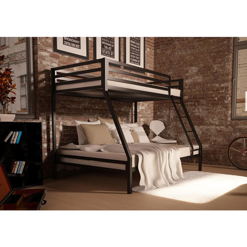 Mainstays Premium Twin Over Full Metal Bunk Bed, Multiple Colors by Dorel Home Products