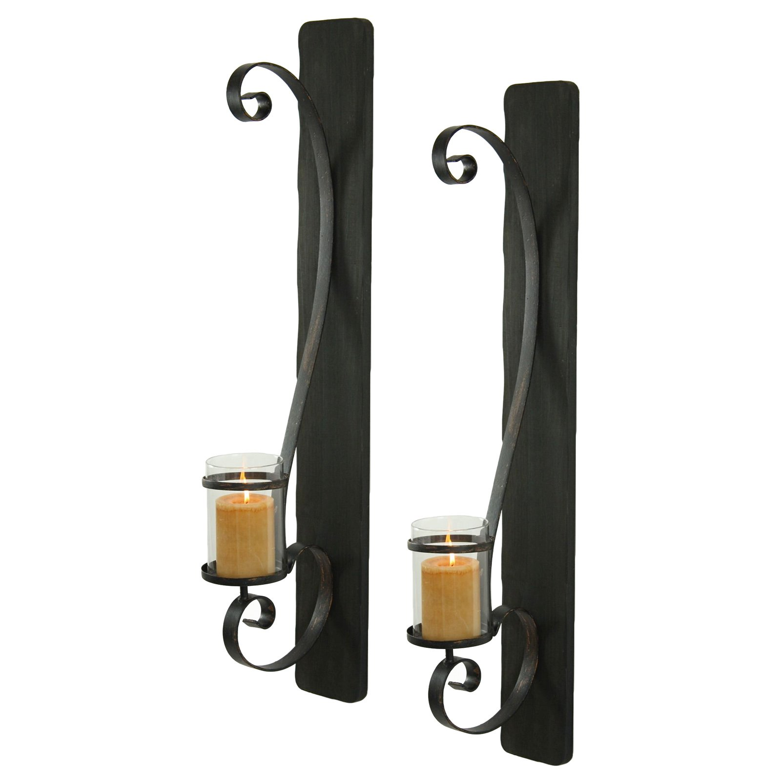 Aspire Home Accents Arya Candle Wall Sconce Set of 2 by Aspire Home Accents