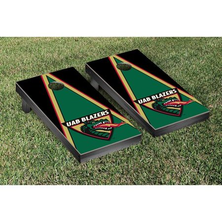 Victory Tailgate NCAA Triangle Wooden Cornhole Game