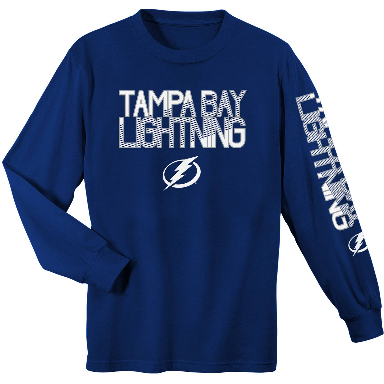 NHL Tampa Bay Lightning Youth Long Sleeve Tee
