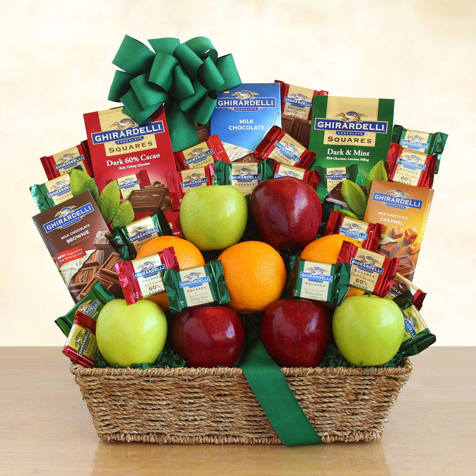 Ghirardelli Chocolate and Fresh Fruit Celebrations