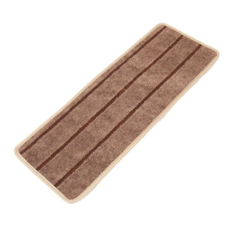 Household Polypropylene Fiber Non-slip Floor Staircase Stair Mat Carpet Brown - image 1 of 1
