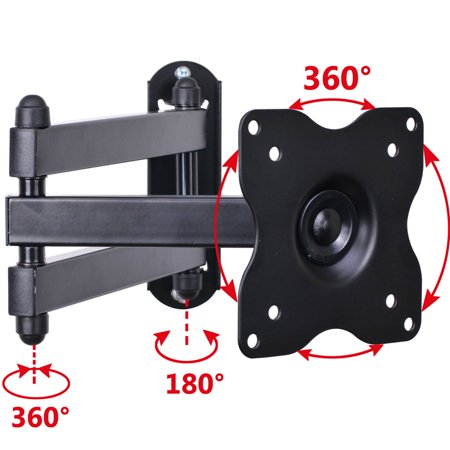VideoSecu Articulating Tilt TV Wall Mount for most 19 22 23 24 26 27 28 32