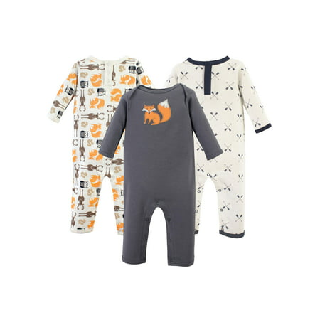 One-Piece Rompers, 3-pack (Baby Boys) (Hudson Romper)