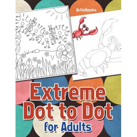 Extreme Dot to Dot for Adults - Dot To Dots Halloween