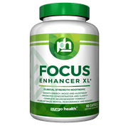 Purgo Health Focus Enhancer XL -Supplement for Focus, Energy, Concentration & Clarity – Mental Performance Nootropic – COMPLETE NEUROSENSORY FORMULA