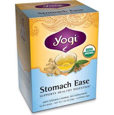 Stomach Ease Tea Organic Yogi Teas 16 Bag