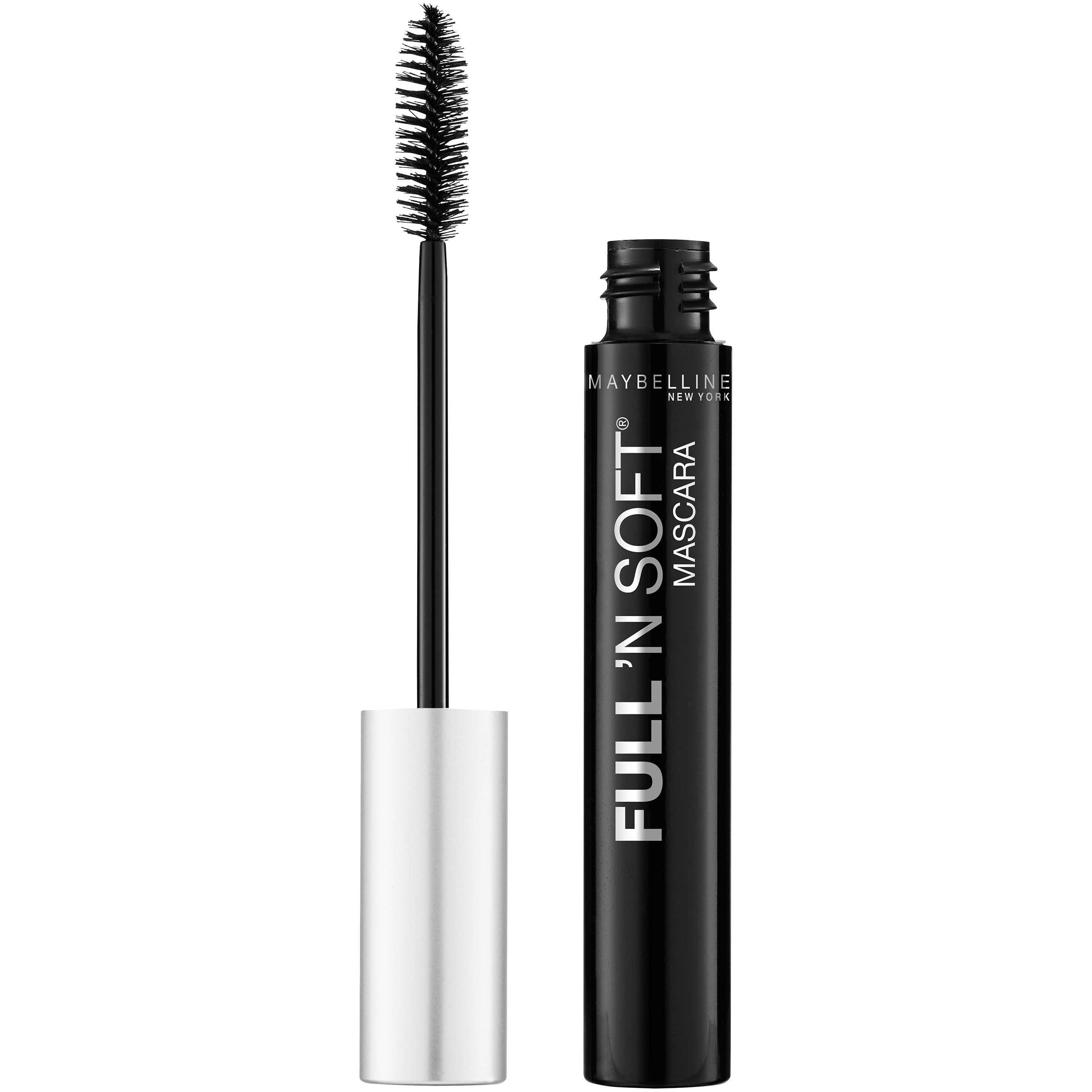 Maybelline New York Full 'N Soft Washable Mascara, Very Black, 0.28 Fl Oz