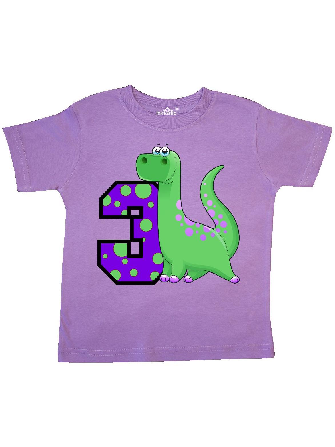 Dinosaur 3rd Birthday Toddler T-Shirt