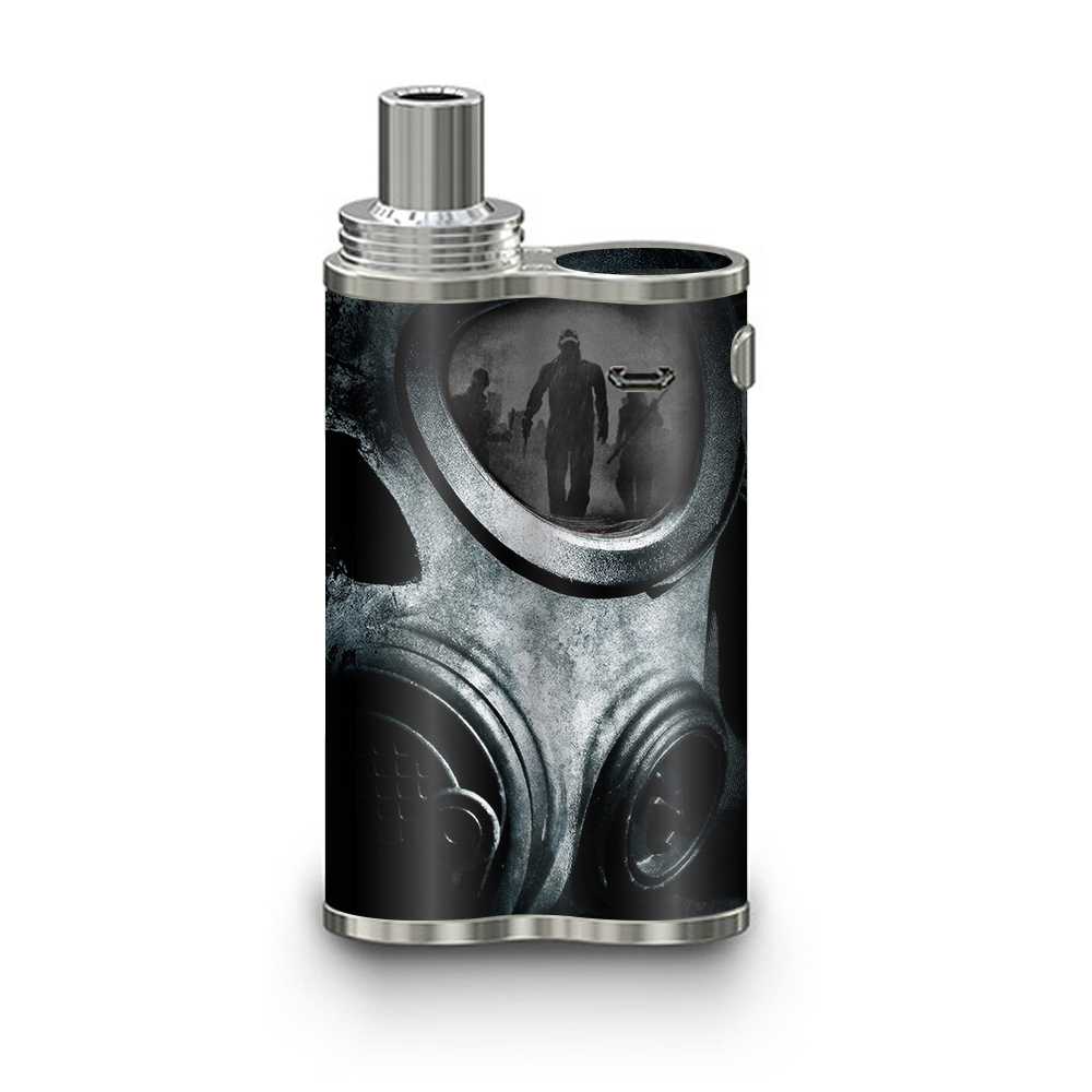 Skins Decals For Eleaf Ijustx Vape Mod   Gas Mask War Apocolypse by Itsaskin