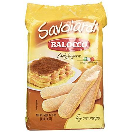 Severed Fingers Halloween Cookies (Balocco Savoiardi Lady Fingers - 17.6)