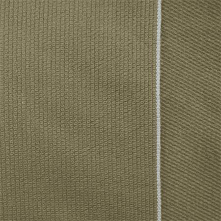 Brown Cotton Linen Pique Selvedge Denim Fabric By The