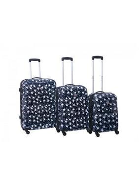 de43e1c71 Product Image American Flyer Stars 3-Piece Hardside Spinner Luggage Set