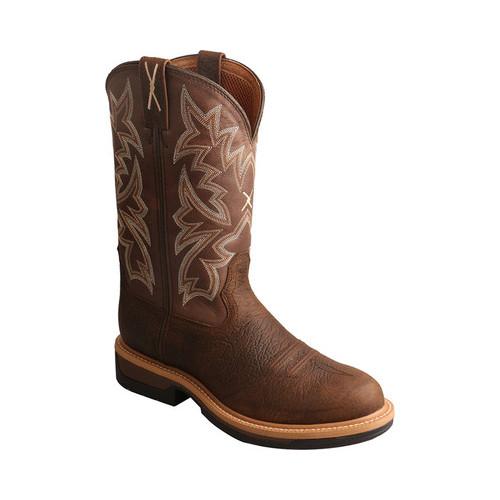 Men's Twisted X Boots MLCA002 Lightweight Cowboy Work Boot