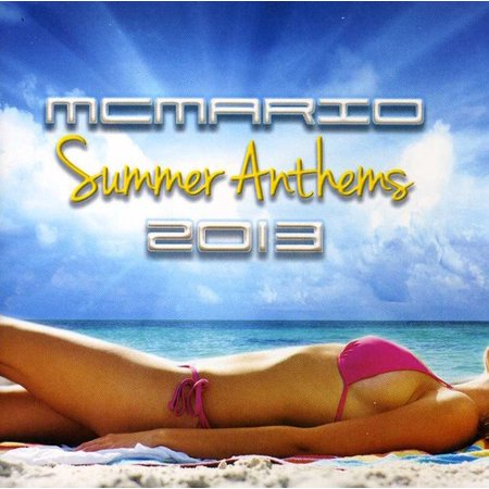 Summer Anthems 2013 (CD) (Best National Anthem In The World 2013)