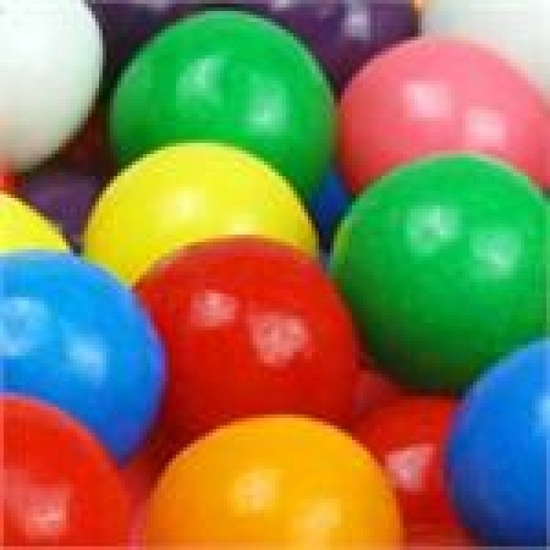 5 LB FIVE POUND BAG DOUBLE BUBBLE 1 INCH GUMBALLS GUM BALLS CANDY PARTY