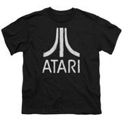 Atari - Rough Logo - Youth Short Sleeve Shirt - X-Large