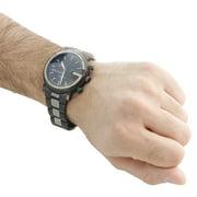 cb06f11f9cb Diamond Watch Mens 6 Ct. 101G Ya101331 Black PVD Chronograph Iced Band  Image 7 of