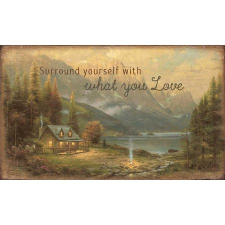 Thomas Kinkade Surround Yourself with What You Love 18