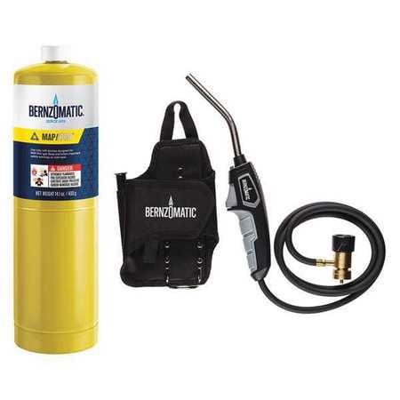 Bernzomatic 331664 Premium Trigger-Start Torch Kit 3-Piece
