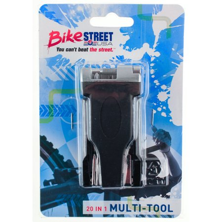 Bike Tool 20 in 1 Mini Multi-Tool Road Bicycle MTB Tire Lever Spoke Compact