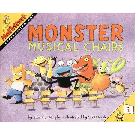 Monsters University Halloween Games (Mathstart 1: Monster Musical Chairs)
