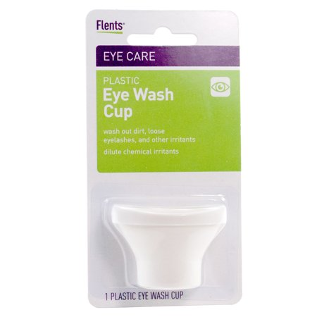 Jerusalem Wash Cup - Flents Plastic Eye Wash Cup - (Single Unit White)