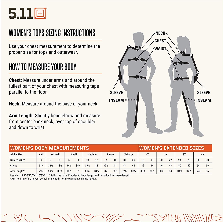5.11 Tactical Womens Stryke PDU Class B Short Sleeve Polo Durable Workwear Shirt Style 61018