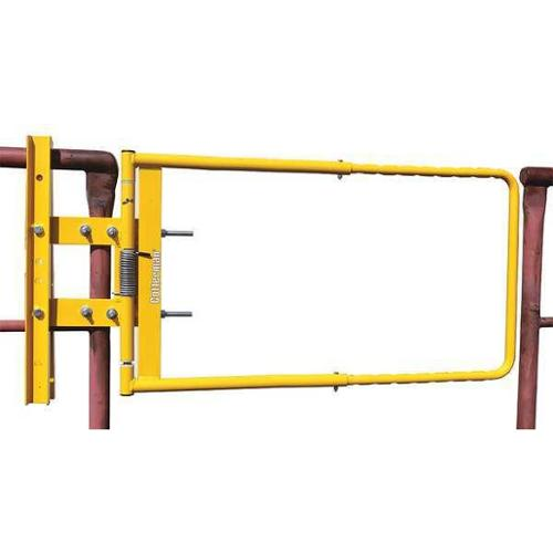 COTTERMAN AG2440ZC2P1 Safety Gate,AG,24 to 40 In,Steel
