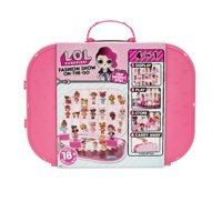 L.O.L. Surprise! Fashion Show On-The-Go Storage/Playset with Doll Included in Light Pink or Hot Pink
