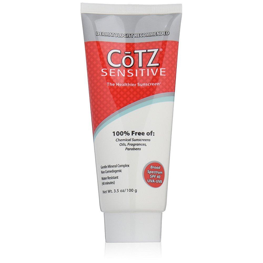 Cotz sensitive spf 40 reviews