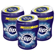 Eclipse Winterfrost Sugar Free Chewing Gum Bottle, 60 Pieces