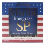MARTIN SP PHOS BRONZE BLUEGRASS SET