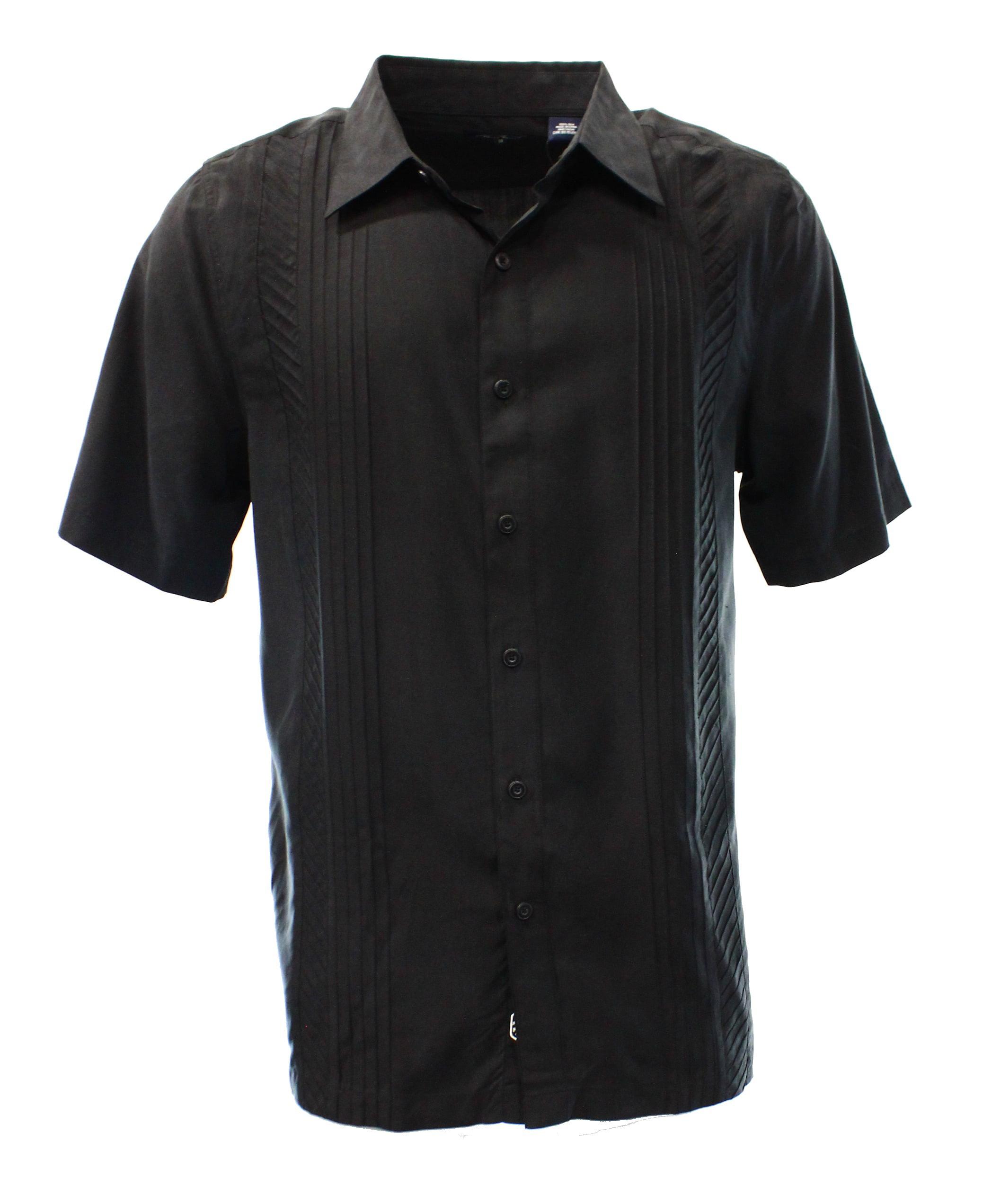 b92fab2ae2ac85 Nat Nast - Nat Nast NEW Black Mens Medium M Button-Front Silk Woven ...