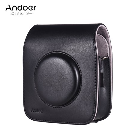 Andoer SQ10 Camera Case Bag PU Leather Protection Camera Bag with Adjustable Shoulder Strap for Fujifilm Instax SQ10 Camera 3 Colors for Option - image 3 of 7
