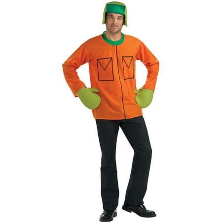 Orange Park Mall Halloween (Green and Orange South Park Kyle Men Adult)