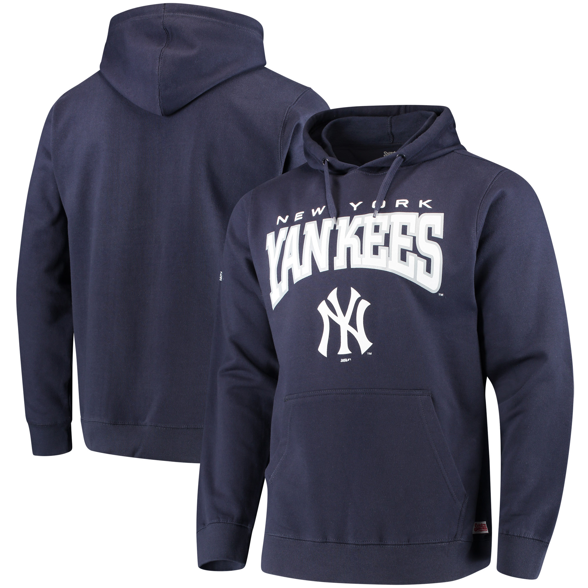 New York Yankees Stitches Team Pullover Hoodie - Navy