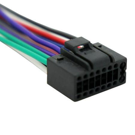 - Harmony Audio HA-JVC16B JVC Aftermarket Replacement 16 Pin Radio Wire Harness
