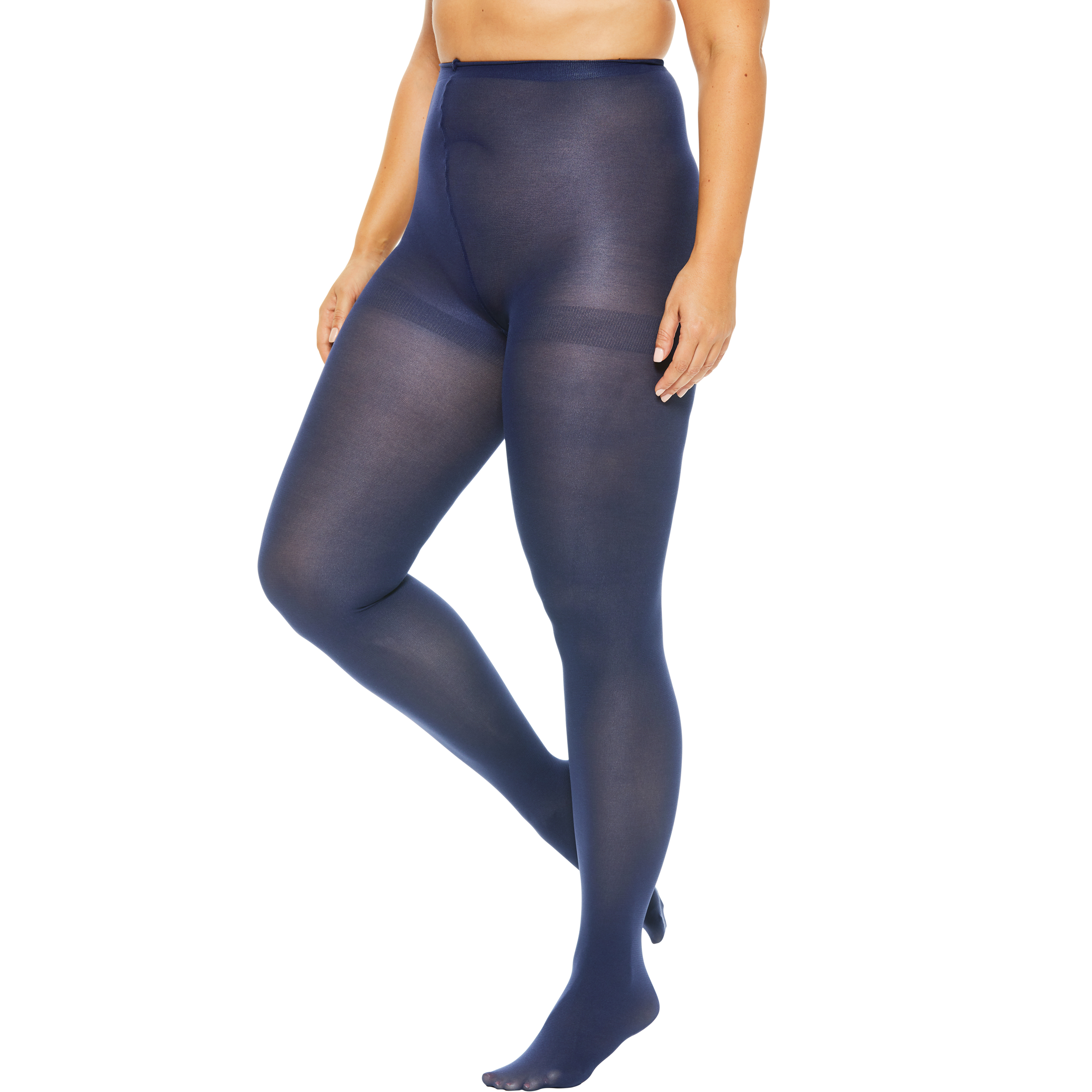 Plus-Size Hosiery Collections : plus size tights