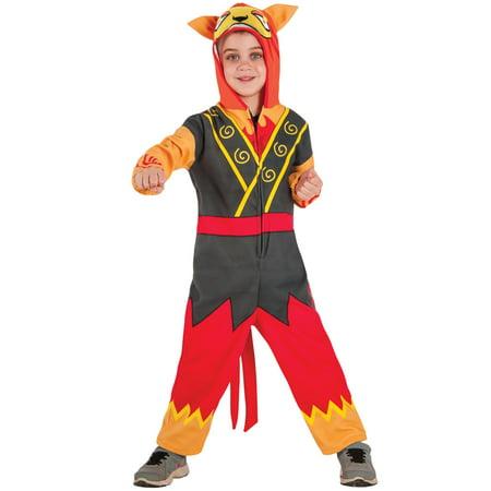 Yo Kai Watch: Blazion Child Costume S](Ni Hao Kai Lan Halloween Costume)